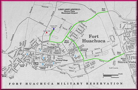 fort huachuca map pin by d dunlap on fort huachuca az forts