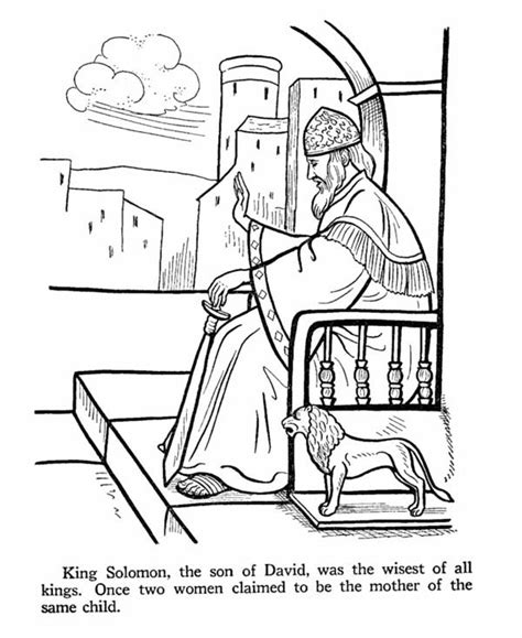 king solomon coloring pages king coloring page coloring home king king solomon was the wisest of all king in the story of