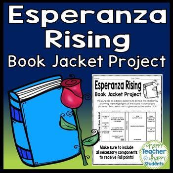 esperanza rising book report esperanza rising project create a book jacket a book