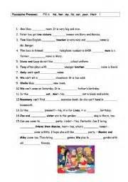 english exercises pronouns exercise