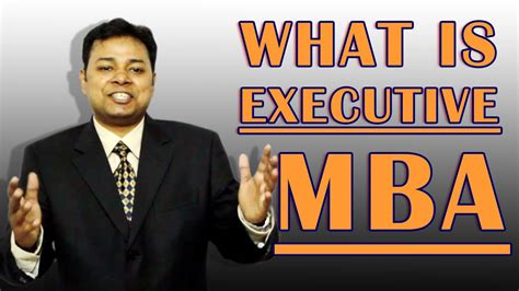 What Is Executive Mba by What Is Executive Mba