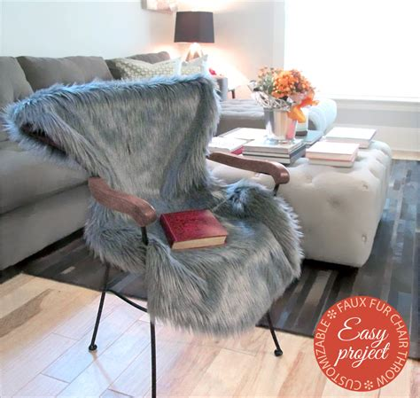 Throw On Chair - sew4home transform your space