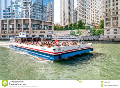 lake michigan boat tours chicago cityview boat tour editorial photography image of