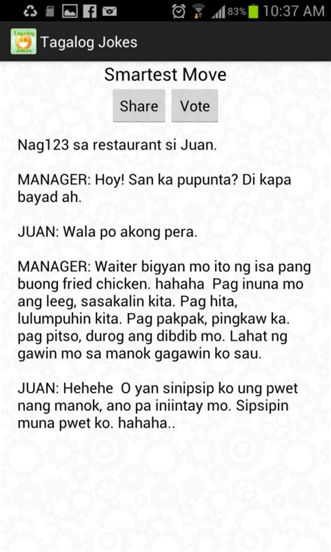 new year jokes tagalog tagalog jokes android apps on play