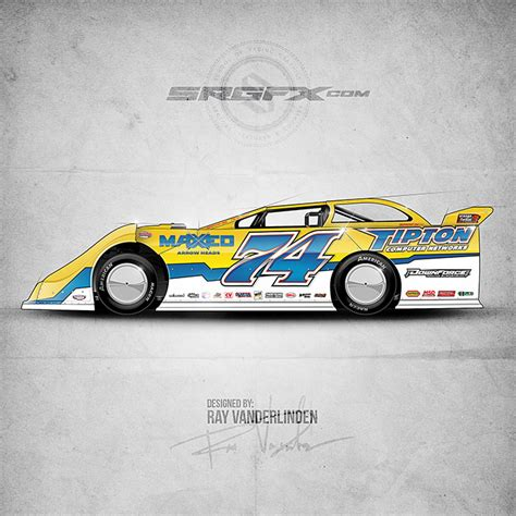 dirt late model graphics template srgfx vector racing graphics resourcesschool of