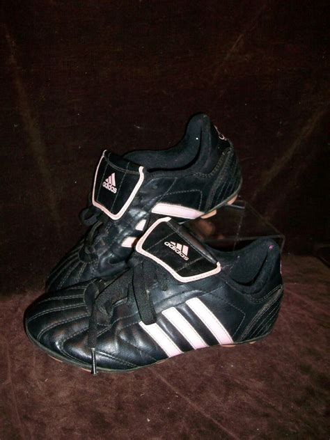 adidas girls size  soccer softball cleats shoes pink