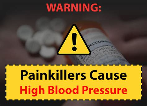 warning painkillers  high blood pressure