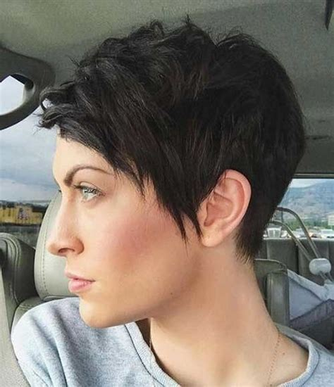 short haircuts    funky short hair