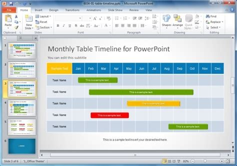 Creative Templates For Gantt Charts Project Planning In Powerpoint Calendar Timeline