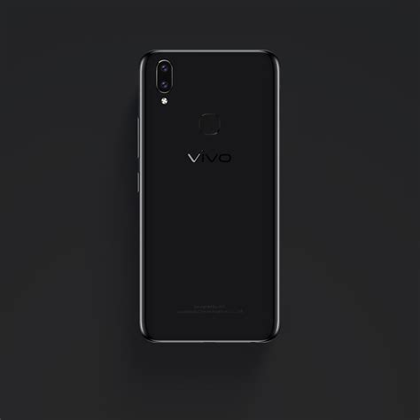 Vivo V9 Black vivo v9 announced with dual rear cameras announced