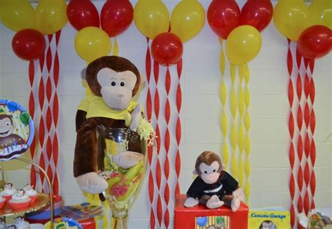 Curious George Decorations by Pin By Cynthia Barrera On Curious George Bday Ideas