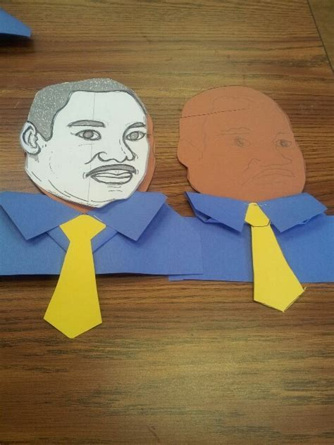 martin luther king crafts for 7 best images about enero manualidades on