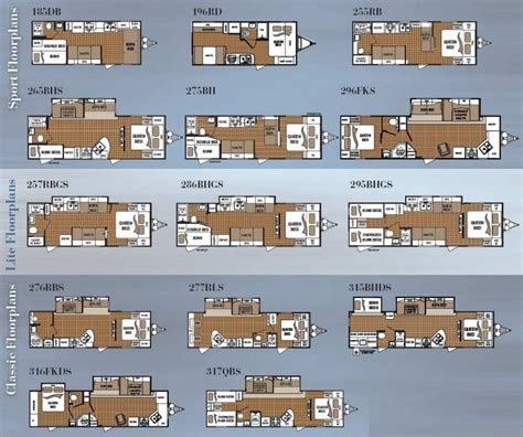 wilderness travel trailer floor plan 2004 fleetwood wilderness travel trailer floor plans