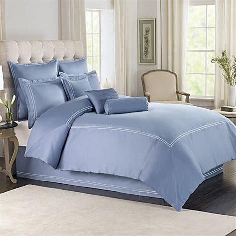 periwinkle bedding wamsutta 174 baratta stitch comforter set in periwinkle