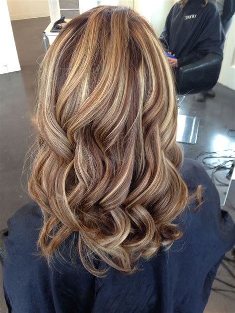 blonde highlights on brown hair 100 best hair images on pinterest