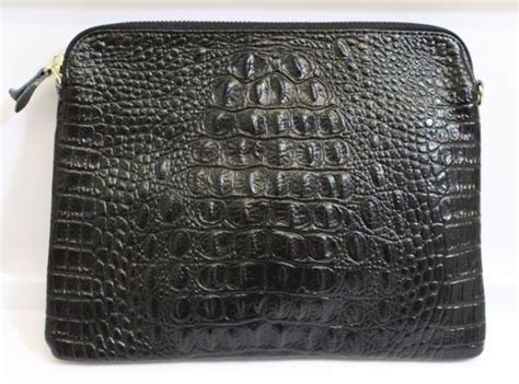 Croco Clutch Series bag mock croc leather clutch clutch croc clutch