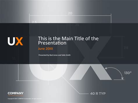 powerpoint cover page template fully editable ux design powerpoint template in photoshop