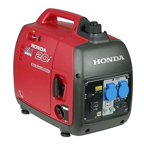 honda 2kva generator flash photo