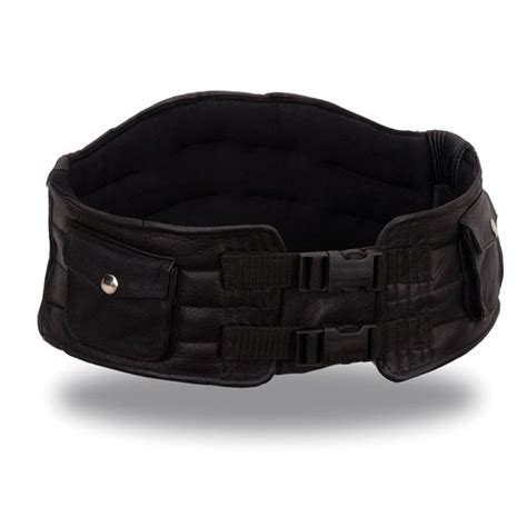 leather motorcycle kidney belt motorcycle review and