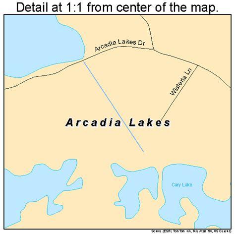 lakes in carolina map arcadia lakes south carolina map 4502125