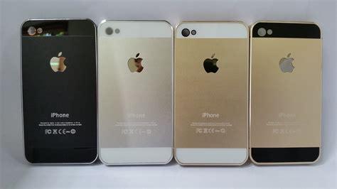 Casing Iphone 4 4s 5 5s Se Hardcase Back Cover Otterbox Defender jual hardcase iphone 4 4s like iphone 5s black gold