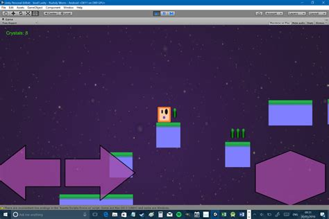 tutorial unity 2d android how to make a 2d platformer for android in unity part three