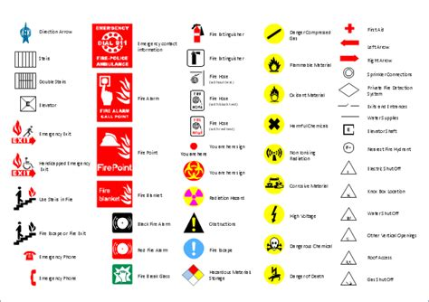 fire extinguisher symbol on floor plan floor plan symbol fire extinguisher and emergency symbols