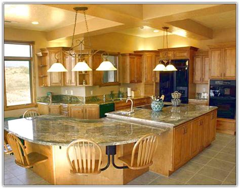 Beautiful Large Kitchen Islands With Seating And Storage Large Kitchen Island With Seating