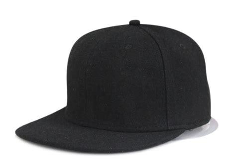 Snapback Topi Hiphop Dewasa Wool Grey Black 1 cool fashion black gray no logo winter wool flat brim snapback baseball cap hiphop sport jpg