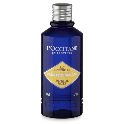 l occitane en provence si鑒e l 180 occitane en provence eau essentielle inmortelle 200 ml