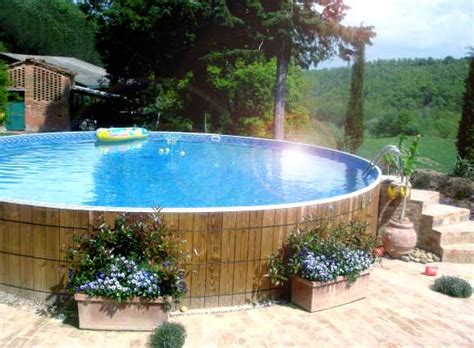 Above Ground Pool Backyard Ideas by Start Building A Backyard Landscaping With Above Ground