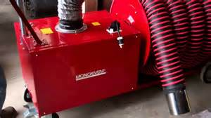 Exhaust Extraction System Monoxivent Portable Diesel Exhaust Removal Eliminator