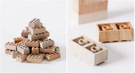 wood lego house wooden lego blocks by mokurokku