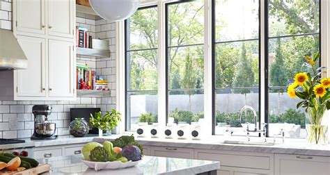 White And Black Kitchen Ideas windows and doors marvin
