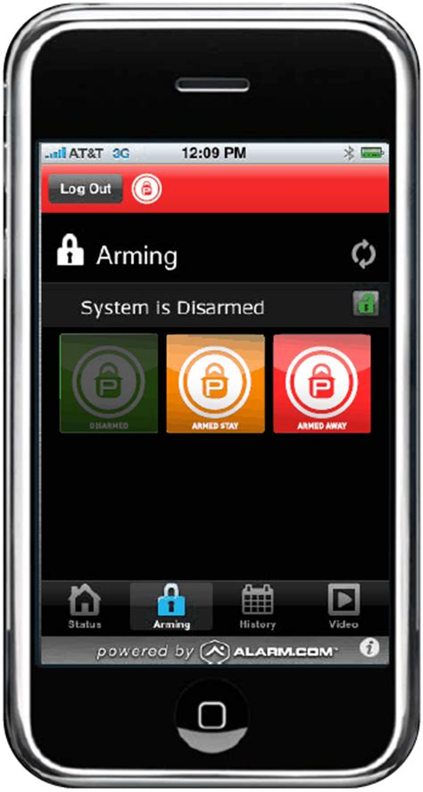 platinum protection announces home security iphone and blackberry app