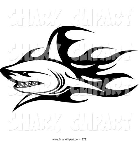 tattoo clip art tribal shark designs www pixshark images