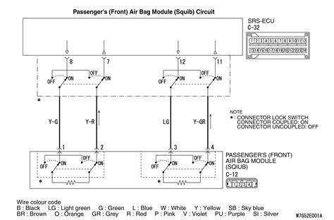 Code No B1b0b Passenger S Front Air Bag Module 1st