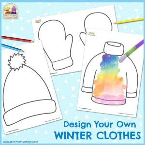 game design your own clothes winter clothes spinner game free printable tea time