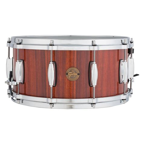 Gretsch 65x14 Gold Series Rosewood Snare Drum S1 6514 Rw Remo gretsch drums gold series rosewood snare drum 14 x 6 5