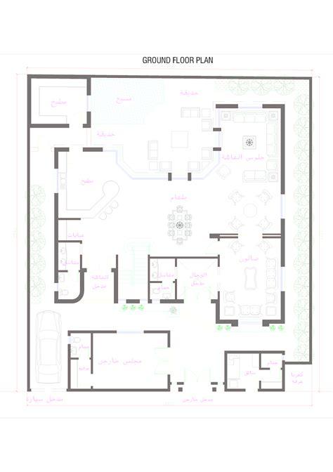 modern villa floor plan 3d front elevation com oman modern villa plan