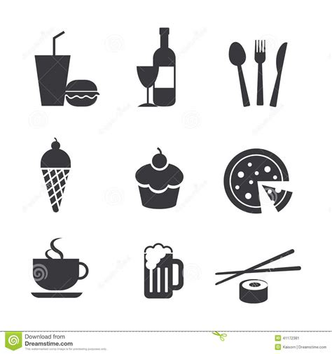 drink vector food and drink icons cartoon vector cartoondealer com