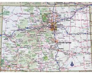 detailed map of cities and towns maps of colorado state collection of detailed maps of