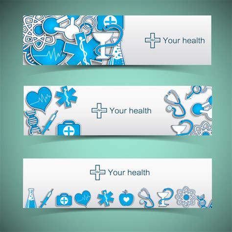 design elements banner medical elements vector banner free vector in adobe