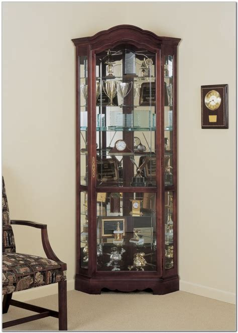 Cherry Wood Corner China Cabinets   Cabinet : Home