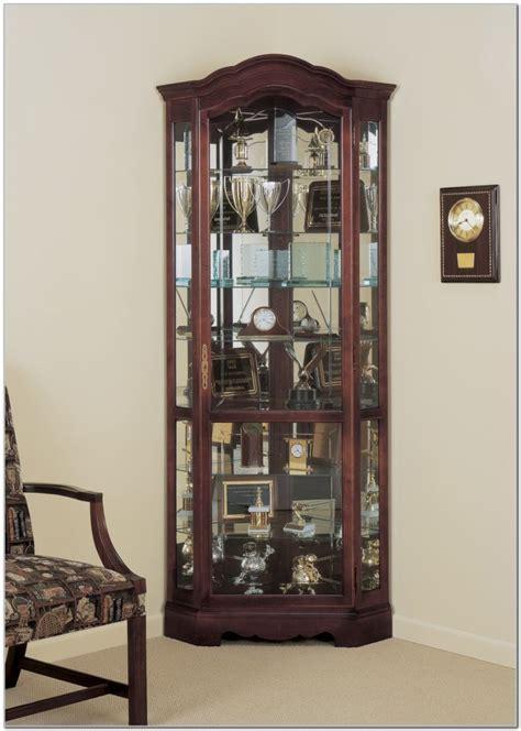 Cherry Wood Corner China Cabinets   Cabinet : Home