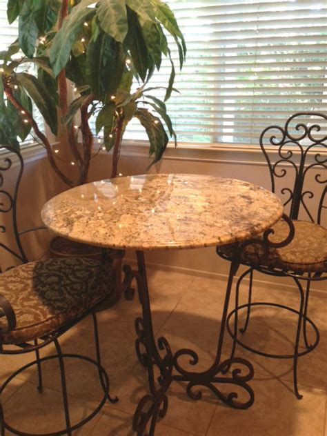 granite top bar table granite bar and table tops mediterranean kitchen san