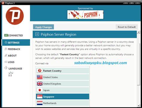 cara setting psiphon telkomsel cara internet gratis axis xl telkomsel dengan psiphon di