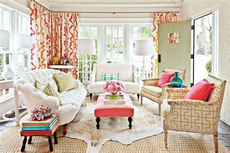 southern living decor decorating sunrooms punch up your palette southern living