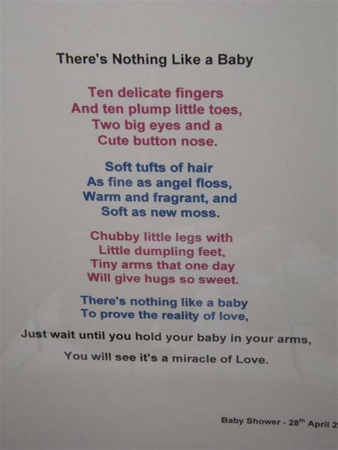 baby poems for baby showers baby shower poem baby shower ideas