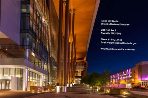 music city center nashville tn lighting design by cm music city center mpyer marketing